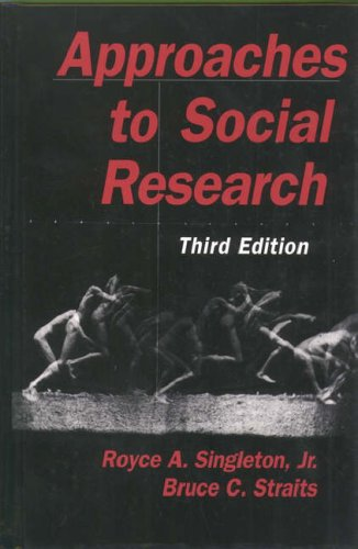 Approaches to Social Research 9780195105254