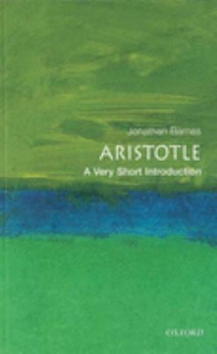 Aristotle: A Very Short Introduction 9780192854087
