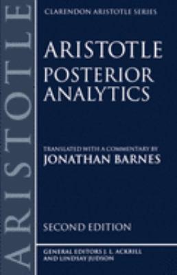 Posterior Analytics 9780198240891