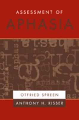 Assessment of Aphasia 9780195140750