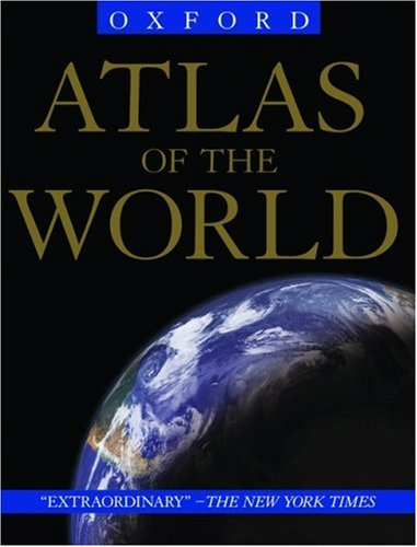 Atlas of the World [With Folded Map] 9780195219869