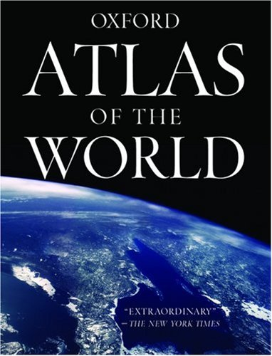 Atlas of the World [With Wall Map] 9780195313215