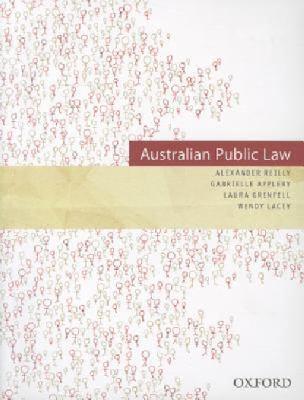 Australian Public Law 9780195572292