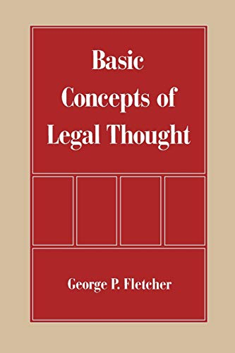 Basic Concepts of Legal Thought 9780195083361