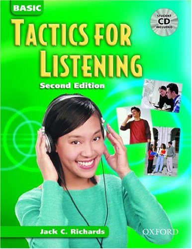 Basic Tactics for Listening: Student Book with Audio CD 9780194384513