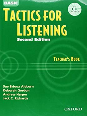 Basic Tactics for Listening [With CDROM] 9780194384537