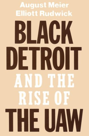 Black Detroit and the Rise of the UAW 9780195028959