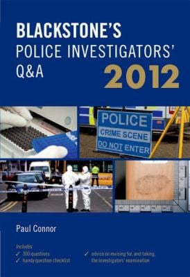 Blackstone's Police Investigators' Q&A 9780199638970