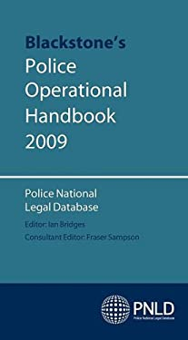 Blackstone's Police Operational Handbook 9780199550425