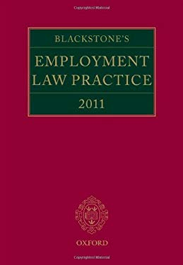 Blackstone's Employment Law Practice 2011 9780199589210