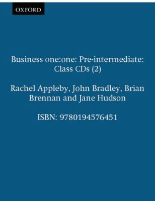 Business One: One Pre-Intermediate Class Audio CDs: Comes with 2 CDs Class CDs (2