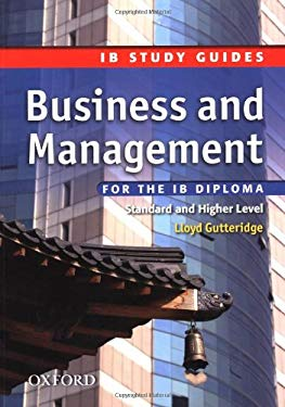 Business and Management for the IB Diploma 9780199135318