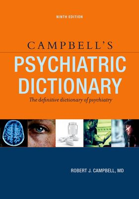 Campbell's Psychiatric Dictionary 9780195341591