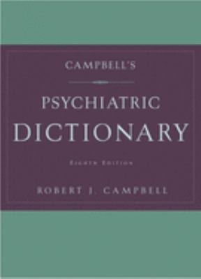 Campbell's Psychiatric Dictionary 9780195152210