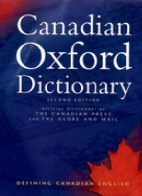 Canadian Oxford Dictionary 9780195418163