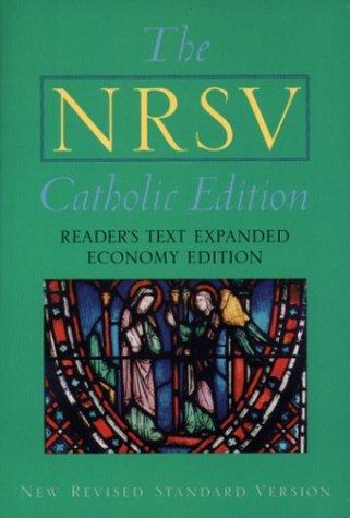 Catholic Bible-NRSV-Economy 9780195282658