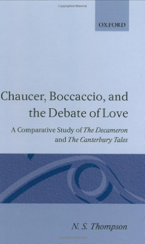 chaucer boccaccio and the debate of Free college essay chaucer,boccaccio,and the debate of love ns thompson, chaucer, boccaccio, and the debate of love: a comparative study of the decameron and the.