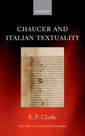 Chaucer and Italian Textuality 13139518