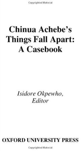 a review of chinua achebes novel thing fall apart His first novel, things fall apart in an interview in the 1994-95 issue of the paris review, chinua achebe states that he became a writer in order to tell his.