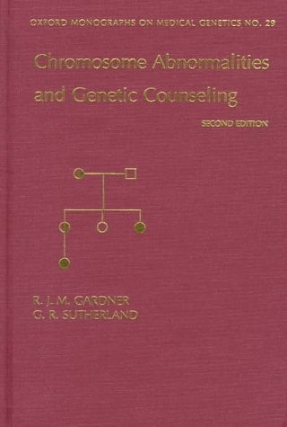Chromosome Abnormalities & Genetic Counseling 9780195106152