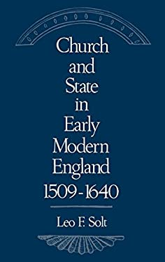 Church and State in Early Modern England, 1509-1640 9780195059793