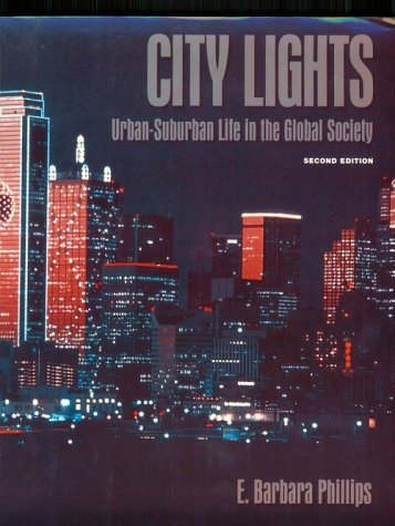 City Lights: Urban-Suburban Life in the Global Society 9780195056891