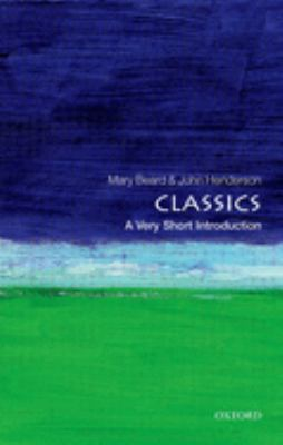 Classics: A Very Short Introduction 9780192853851