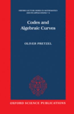 Codes and Algebraic Curves 9780198500391
