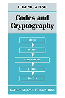 Codes and Cryptography 9780198532873