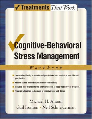 Cognitive-Behavioral Stress Management: Workbook 9780195327908