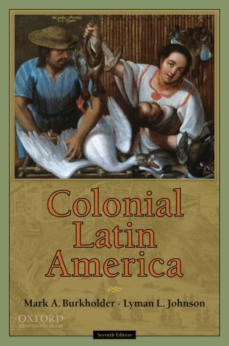 Colonial Latin America 9780195386059