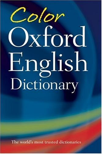 Color Oxford English Dictionary 9780198614401