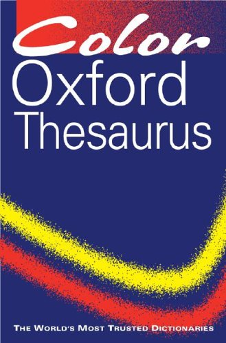 Color Oxford Thesaurus 9780198614500