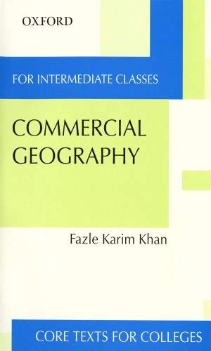 Commercial Geography for Intermediate Classes 9780195799576