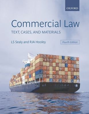 Commercial Law: Text, Cases, and Materials 9780199299034