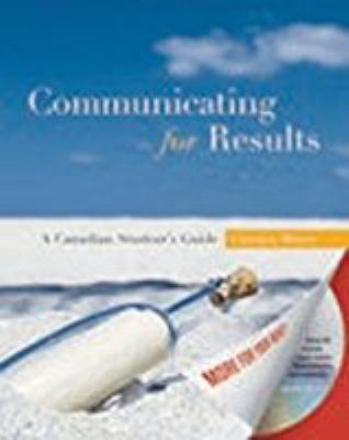 Communicating for Results: A Canadian Student's Guide 9780195428520