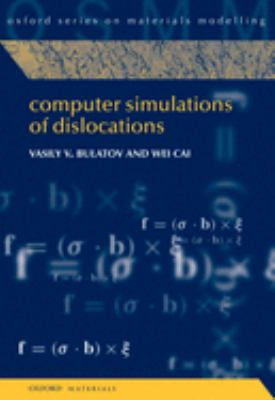 Computer Simulations of Dislocations 9780198526148