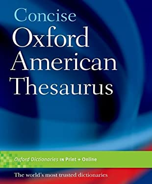Concise Oxford American Thesaurus 9780195304855