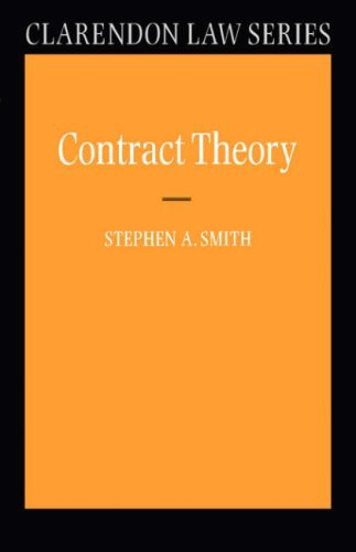 Contract Theory 9780198765615