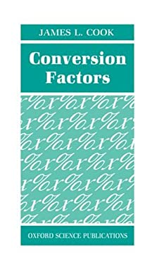 Conversion Factors 9780198563495