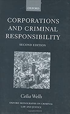 Corporations and Criminal Responsibility - 2nd Edition