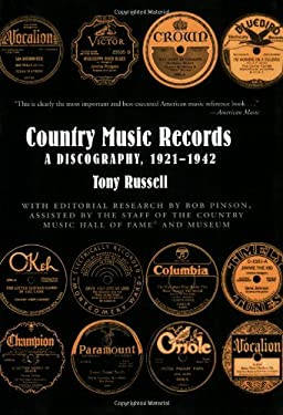 Country Music Records: A Discography, 1921-1942 9780195366211