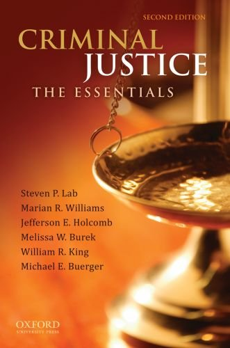 Criminal Justice: The Essentials 9780199737192