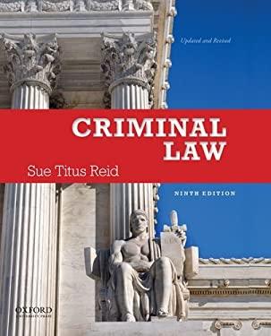 Criminal Law 9780199899388