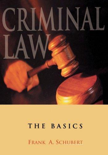Criminal Law: The Basics 9780195330212