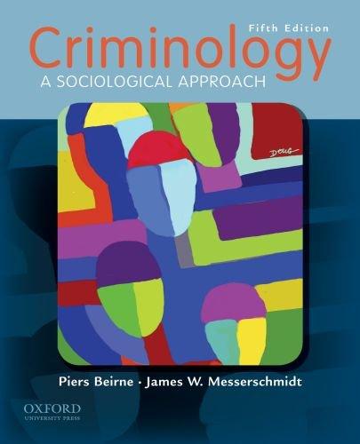 Criminology: A Sociological Approach 9780195394764