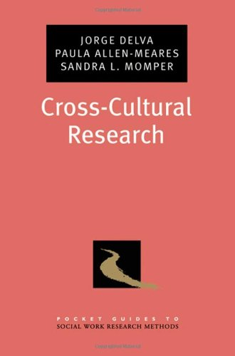 Cross-Cultural Research 9780195382501