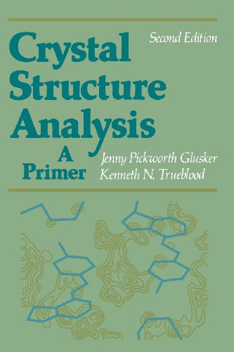 Crystal Structure Analysis 9780195035438