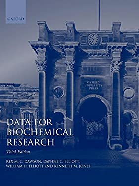 Data for Biochemical Research - 3rd Edition