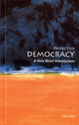 Democracy: A Very Short Introduction 9780192802507